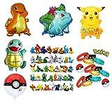 Pokemon Theme Party Supplies Bundle Favors Pack-24 Action - Best Reviews Guide