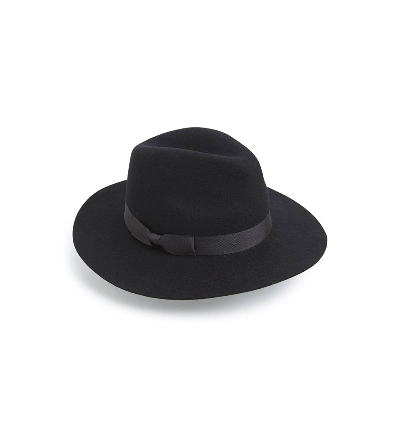 Lack of Color Women's 'The Midnight Muse II' Felt Fedora (Black, Small (56cm))