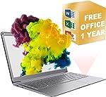 Jumper Windows 10 Laptop, Traditional Laptop Computers 13.3'' Mini Laptop Intel