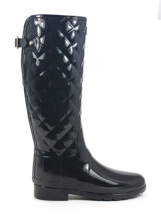 Hunter Woman Refined Gloss Quilt Tall Black: Amazon.es: Deportes y aire libre