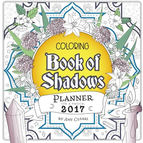 Coloring Book Shadows Planner Magical product image