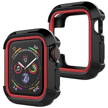 Amazon.com: UooMoo - Carcasa para Apple Watch 4 (1.732 in ...