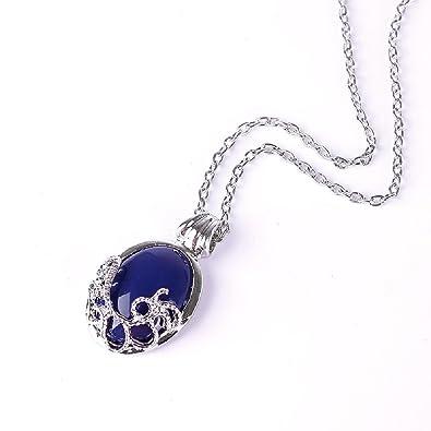 NEW Vampire Diaries Necklace Katherine Anti-sunlight Lapis Lazuli Pendant