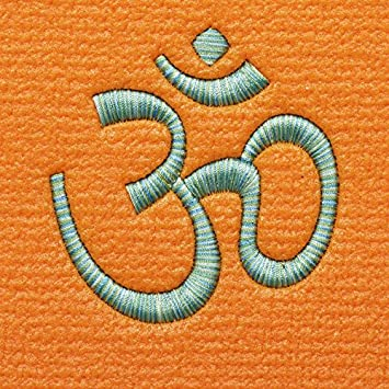 66f37954eda Yoga mat Premium Plus orange with OM Colour Stick, 1602  (green/turquoise/white): Amazon.co.uk: Sports & Outdoors