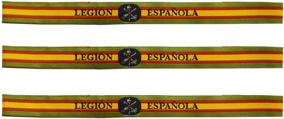 ALBERO 3 X Pulsera Legión Española Bandera de España 29 x 1.5cm: Amazon.es: Deportes y aire libre