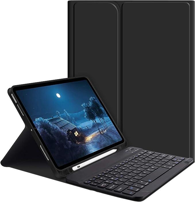 GOOJODOQ Funda con Teclado para iPad Air 4 10.9