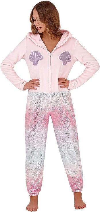 Mono Mujer Loungeable Pijama Mujer 3D Orejas Todo En Uno Pijama de beb/é