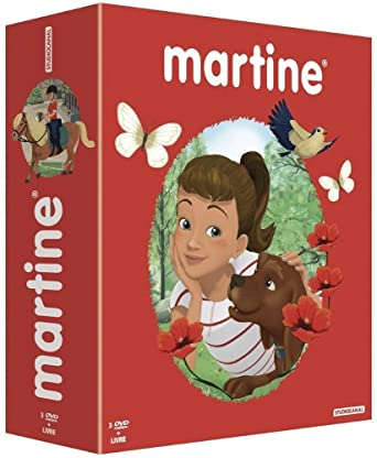 Amazon Com Martine Coffret 3 Dvd 1 Livre Movies Tv