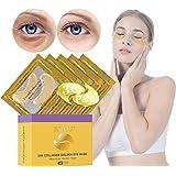 Under Eye Patches, Eye Mask, Gold Under Eye Mask, Gold Eye Mask, Eye Pads, Collagen Eye Patch, JUYOU Eye Patch For Anti…