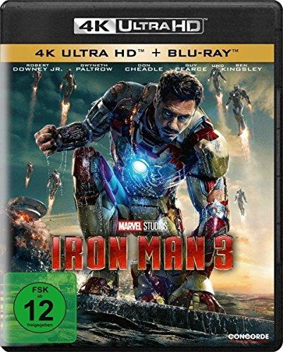 Iron Man 3 [4K Ultra HD] [Blu-ray]