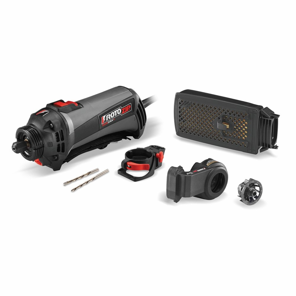 RotoZip Tools SS560vsc-31 120-volt Roto Saw and Spiral Saw Kit with Dust Vault by RotoZip