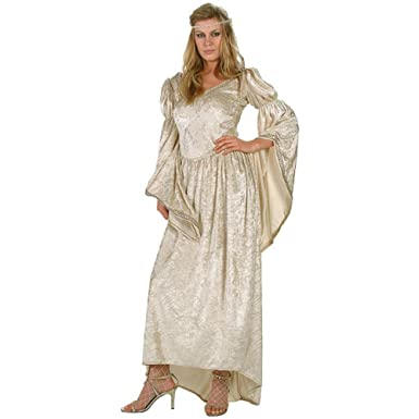 Womens Renaissance Wedding Dress Costume