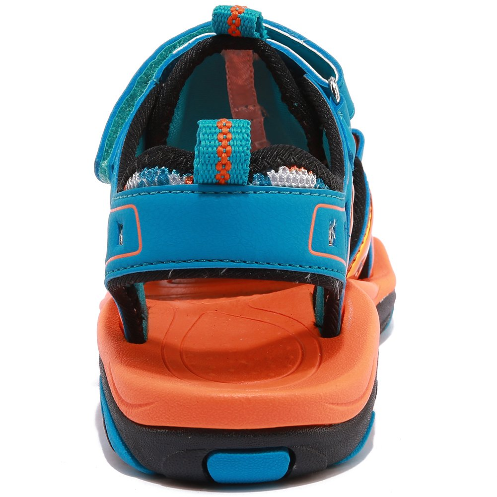 Toddler//Little Kid//Big Kid HOBIBEAR Boys Girls Sport Water Sandals Closed-Toe Outdoor AU3326