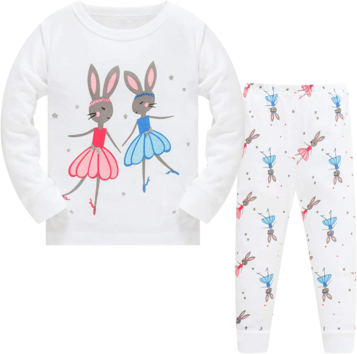 Schmoopy Girls Unicorn Pajamas 2-8 Years