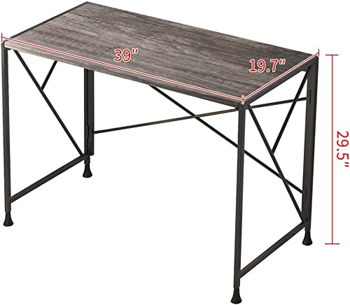 Reviewed: Borzer Folding Computer Desk Simple Writing Study Table