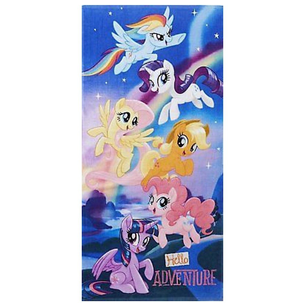 My Little Pony the Movie Cotton Beach Towel - 28 in. x 58 in.