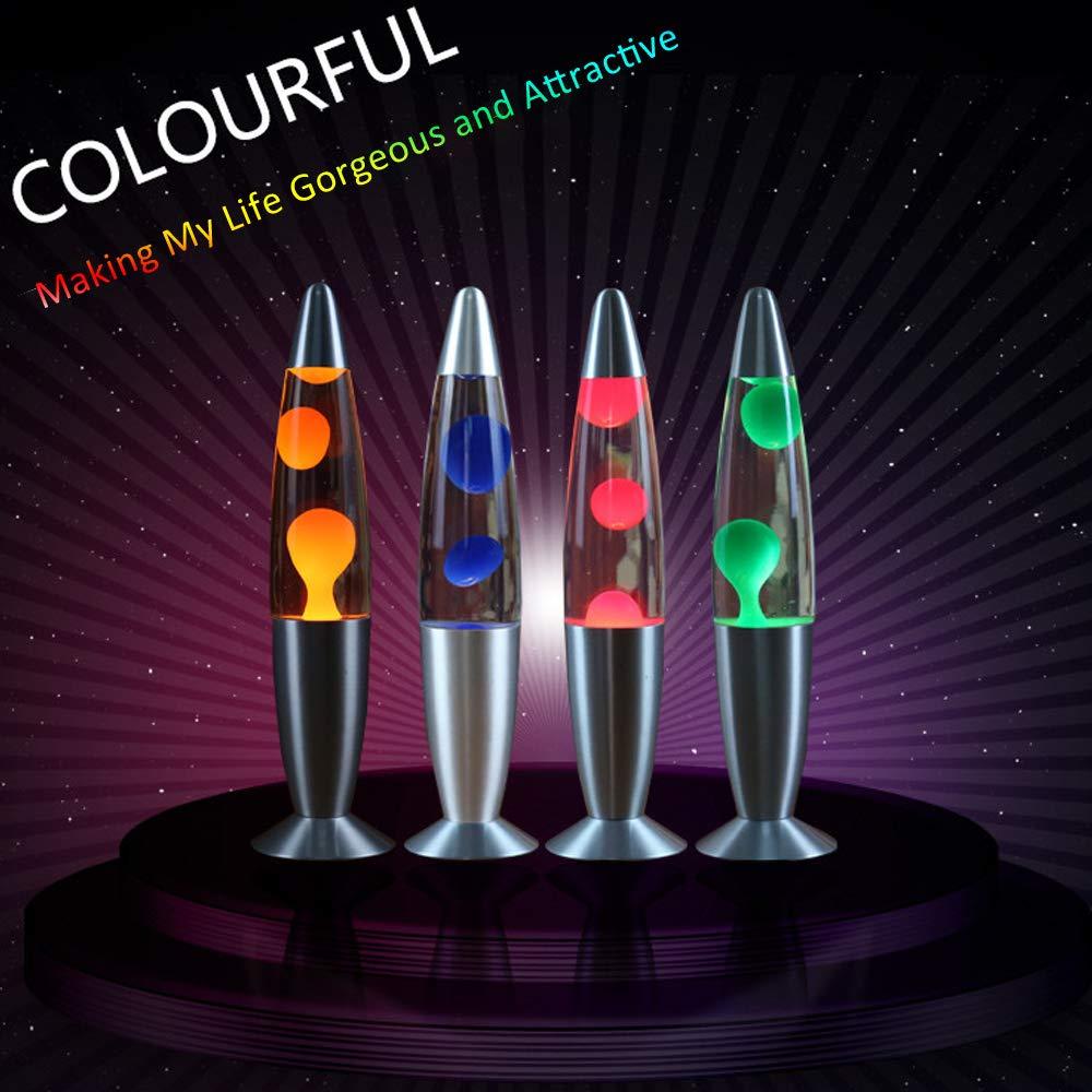 Lampe /à Lave 25 W Incandescent Tungst/ène Lampe De Bureau Jellyfish Atmosphere Light E14 Base Socket Holder pour Chambre Salon Caf/é Boutique Restaurant D/écoration