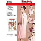 Simplicity 8049 1960's Vintage Fashion Women's