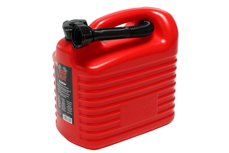Kraftstoff-Kanister 10 L. Reservekanister Benzin Kanister Kraftstoffkanister Expo