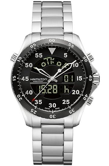 4cf9e874c46 Hamilton Khaki Flight Timer Analog Digital Men Watch H64554131  Hamilton   Amazon.ca  Watches