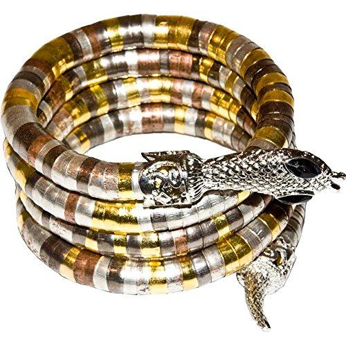 Egyptian Cobra Coil Bracelet (Egyptian Cobra Costume)