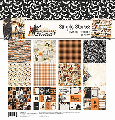 Simple Stories Simple Vintage Halloween Collection