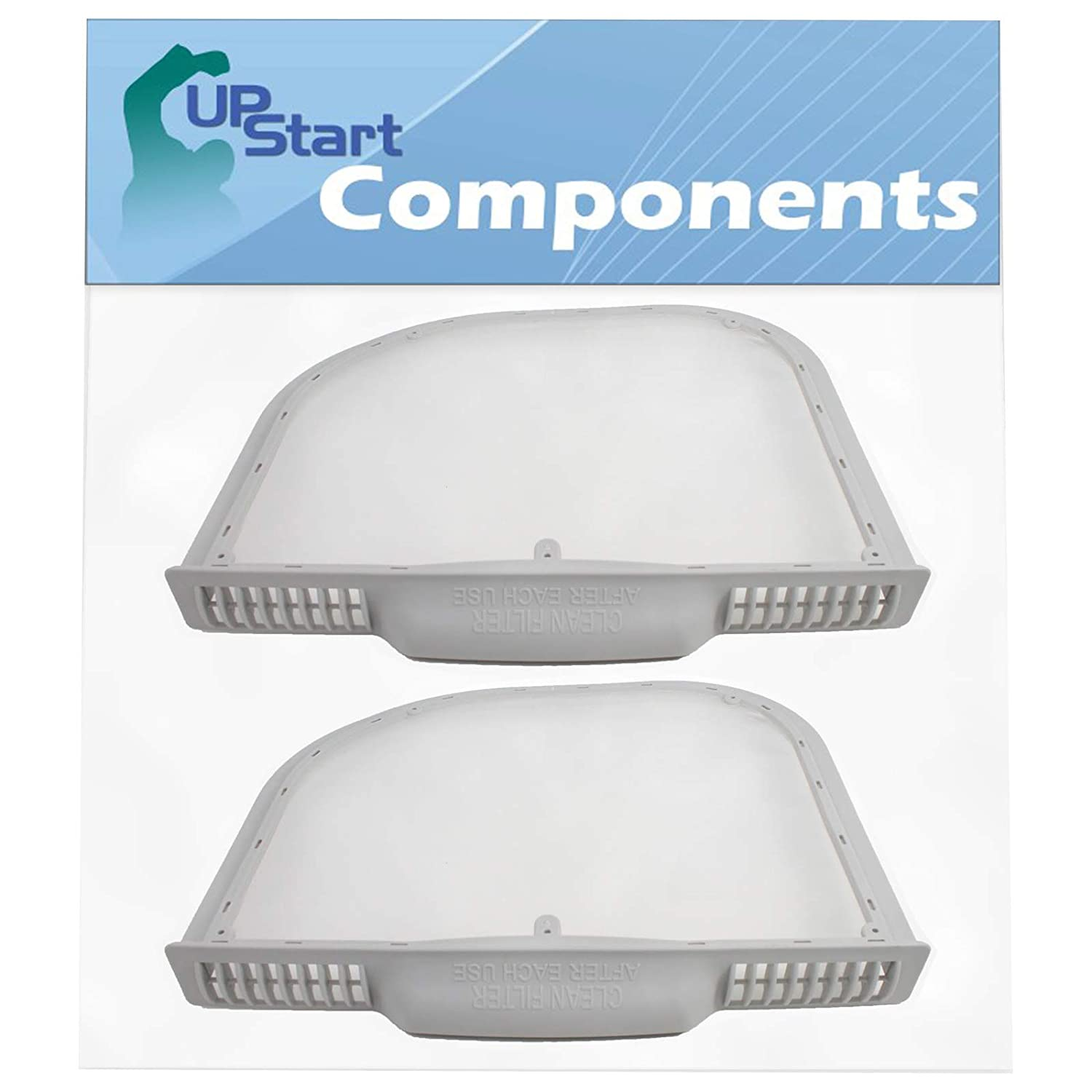 2-Pack 5231EL1001C Dryer Lint Filter Replacement for Kenmore//Sears 796.61512210 Compatible with 5231EL1001C Lint Screen Assembly