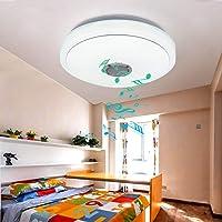 48W RGB LED plafondlamp 7 kleuren plafondlamp, slaapkamerv flikkervrij en niet-verblindend, woonkamerlamp incl. app-besturing Bluetooth