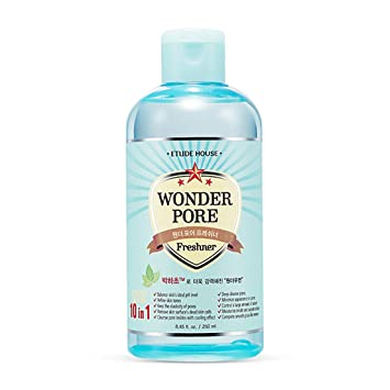 Wonder Pore Face Freshner 10 in 1 Solution Toner Cleanser - 16.9 fl. oz. by Etude House (pack of 6) Andalou Naturals, Lift & Firm Cream, Hyaluronic DMAE, 1.7 oz(pack of 3)