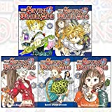 Seven Deadly Sins Series 1 Vol (1 to 5) 5 books collection Set By Nakaba Suzuki