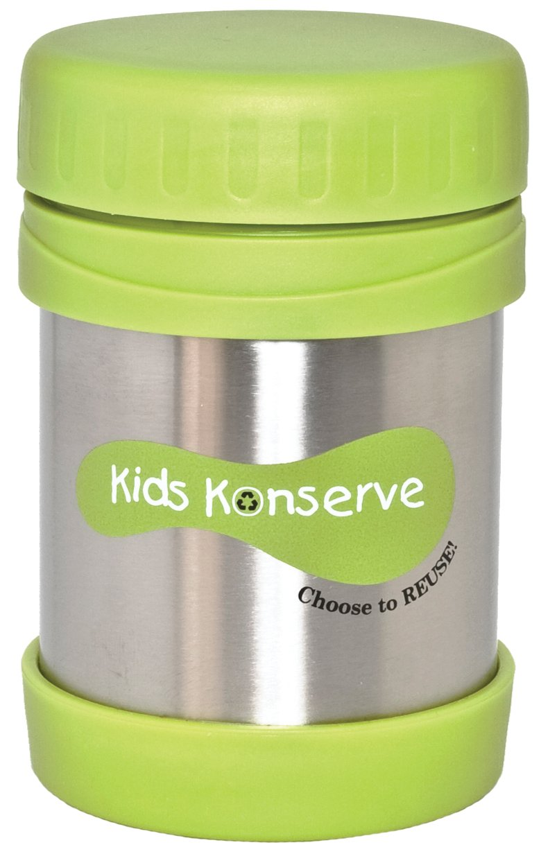 U Konserve - Insulated Food Jar, Keeps Foods and Liquids Hot or Cold for Hours, Double-Walled and Vacuum Insulated, Dishwasher Safe (Lime)