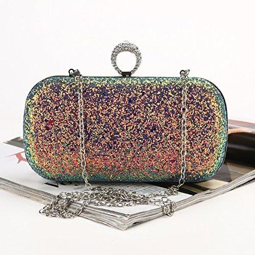 Vioetlly-Luggage Borsa da Sera Borsa da Sera Glitterata Creativa Borsa da Spalla a Tracolla Party Tendenza Moda Femminile Abbinamento Perfetto per Abiti da Notte