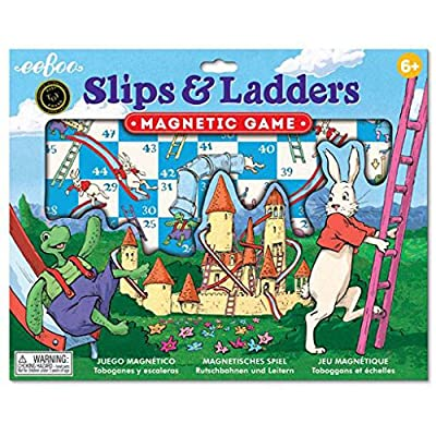 eeBoo Magnetic Road Trip Board Games for Kids