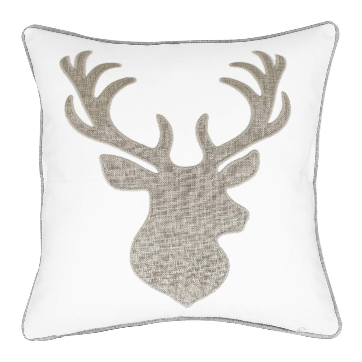 Amazon.com: millianess Funda de almohada de algodón bordada ...