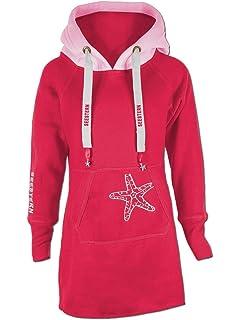 0cf9e7524c SEESTERN Kinder Langes Kapuzen Sweat Shirt Pullover Hoody Sweater  Gr.116-164/1805