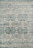 1454 Blue 8 x 10 Area Rug Carpet Large New