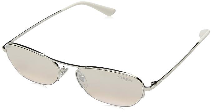 Vogue 323/8Z, Gafas de sol para Mujer, Silver 54: Amazon.es ...