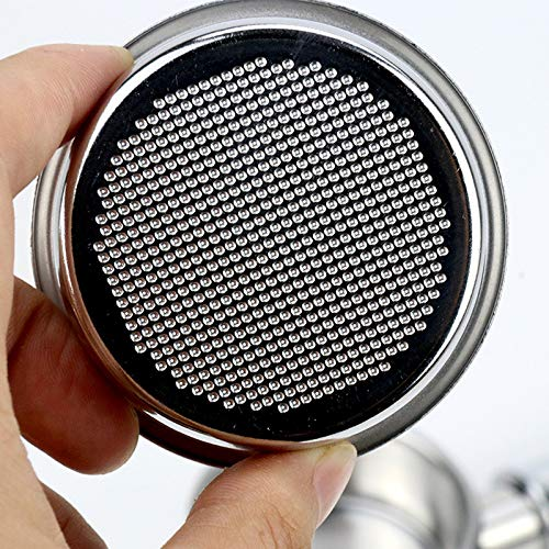 51mm/49mm Coffee Tamper Espresso Coffee Tamper Stainless Steel coffee tamper stand press Espresso Coffee machine coffee tamper 51mm (Steel 51mmI2inch)