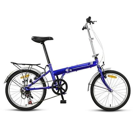 Bicicleta Plegable De 20 Pulgadas Para Hombres Y Mujeres Bicicleta De Montaña Ultra Ligera Para Niños
