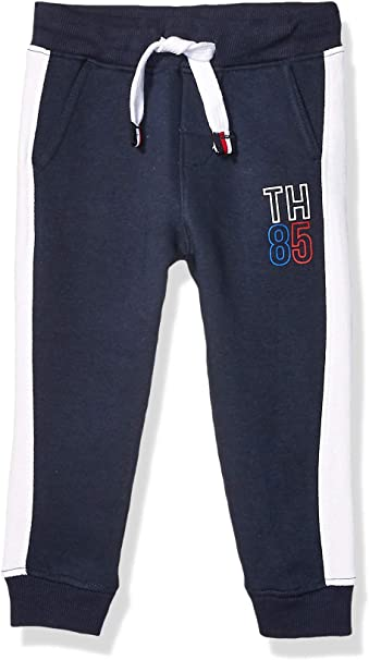 Navy Blazer Tommy Hilfiger Kids Unisex Cotton Blend Hoody