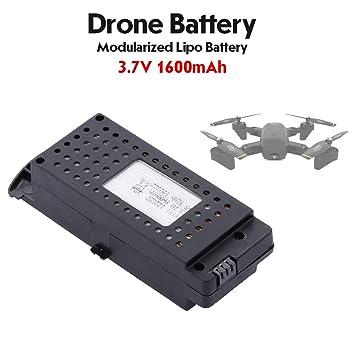 Leslaur Batería Lipo 3.7V 1600mAh Batería Drone Modular para SG700 ...