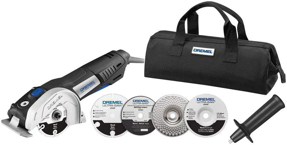 Dremel US40-DR-RT 7.5 Amp 4 in. Ultra-Saw Tool Kit Renewed