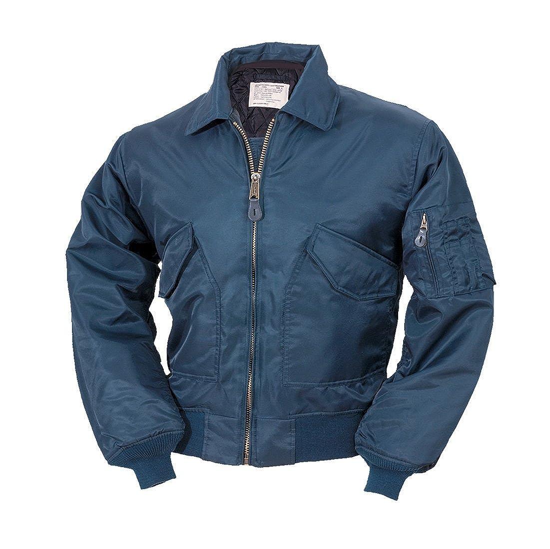 Amazon.com  Delta Men s CWU Ma2 Flight Bomber Us Pilot Airforce Biker  Security Wear Jacket  Clothing 4a5855ab5bd