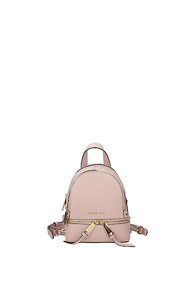 3b94f261c124 MICHAEL by Michael Kors Rhea Zip Soft Pink Messenger Backpack one size Pink