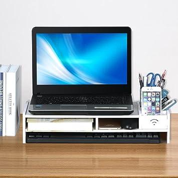 Popamazing – Atril de escritorio, soporte de monitor LCD/ TV/ ordenador portátil.