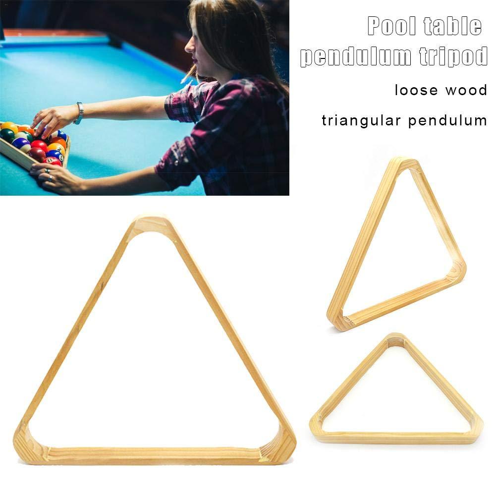 Billiard//Pool 8-Ball Rack Hardwood Triangle feiledi Trade Triangle Ball Rack Billiards 8 Ball Triangle Rack
