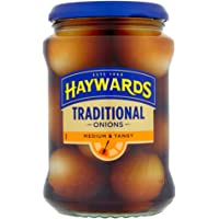 Hayward's Medium & Tangy Traditional Onions - 400g