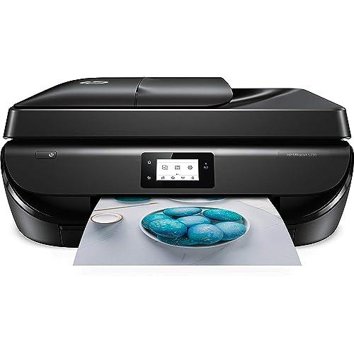 HP Officejet 5230 Impresora multifunción inalámbrica tinta Wi Fi copiar escanear impresión a doble cara 1200 x 1200 ppp 10 ppm color negro