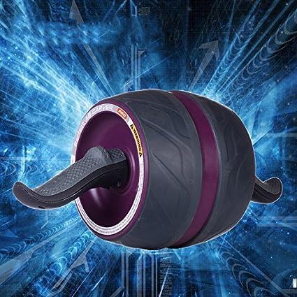 Sunix deportes Fitness Power Roller abdomen entrenamiento muscular rueda AB Roller ejercicio equipo