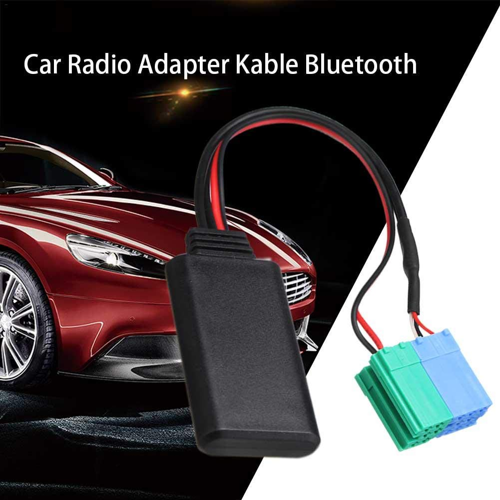 Bluetooth 4.0 Molare Cable de Adaptador AUX de Audio Bluetooth para autom/óvil para iPod Mp3 Porsche Becker